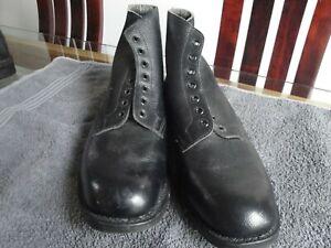 Royal Navy Parade Boots. Size 9 / 9 1/2