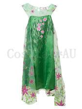 AU Stock~ Kids Disney Frozen Fever New Anna Elsa Princess Dress Cosplay Costume