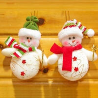 Cute Star Cane Snowman Christmas Tree Decoration Ornament Pendant Nice Xmas Gift
