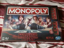 New Hasbro Stranger Things Monopoly Board Game