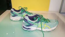 Asics Women's size 4.5 GT-1000 good condition Duomax Green yellow purple white