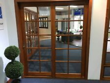 SLIDING DOOR,SOLID CEDAR,1800W x 2100H, R -L, FLY SCREEN, COLONIAL, PRE ORDER