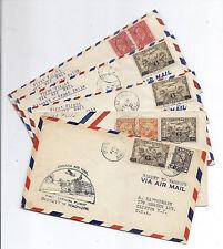 1933 Canada FFC Lot of 5, Manitoba - Bissett, Wadhope, Great Falls - C3*