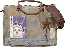 Vintage Addiction Eco Friendly Lady Liberty Laptop / Messenger Bag