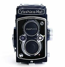 Yashica Mat Replacement Cover - Laser Cut Recycled Leather - Grainy