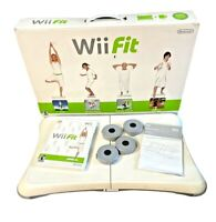 Nintendo Wii Fit RVL-021 | Complete Box w/ Balance Board, Game & Manuals