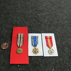 Desert Storm US Mini Medals set of three (MM)Original Period Items - 10953