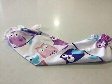 PINK OWL--PLASTIC SHOPPING BAG STORAGE/HOLDER---LARGE SIZE, 55x36cm---NEW