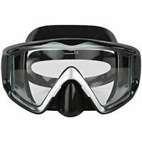 Adventure At Nature Apollo Black/Silver Wide Dive Mask Scuba Diving Snorkeling