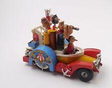 Vintage Corgi #802 Comics Popeye Paddle Wagon Heavy Diecast Figures Work