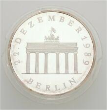 Künker: DDR, 20 Mark 1990 A, Öffnung Brandenburg Tors, Silber, PP!
