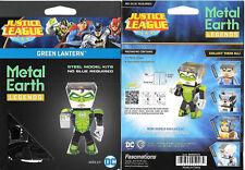 DC Comics Green Lantern Figure Metal Earth Legends 3-D Laser Cut Steel Model Kit