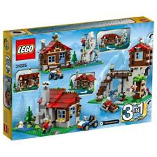 New LEGO Creator 31025:3 in1 Mountain Hut 550 pc set Xmas gift
