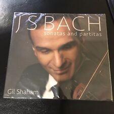 Bach: Sonatas and Partitas GIL SHAHAM (CD, Mar-2015, 2 Discs, Canary Classics)