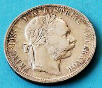 Austria  - Franz Joseph I. - 1879 - 1 Florin Silber Münze
