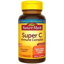 Nature Made Super C IMMUNE Complex 70ct Vitamin C With ZINC, D3, A & E FREE SHIP