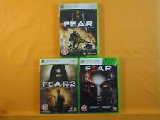 xbox 360 FEAR x3 Games 1 + 2 + 3 *x First Encounter + Project Origin PAL UK