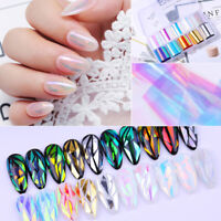 Nail Foils or Glass Paper Nail Art Transfer Sticker Decal Tips DIY Nail Art Tool