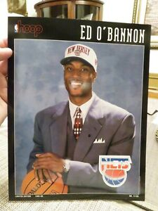 HOOP Print---ED O'BANNON Boston Celtics vs. New Jersey Nets   December 1, 1995