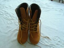Ladies Timberland New Tan Boots Size 5