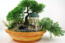 Bradford Exchange Thomas Kinkade Love Lives Here Garden Bowl Centerpiece Lighted