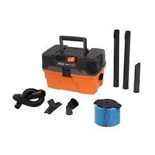 4.5 Gal Small Wet Dry Shop Vacuum Cleaner Handheld Garage Vac Portable Ridgid