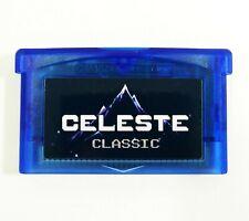 Celeste Classic Pico-8 version for GBA Nintendo Gameboy Advance custom cartridge