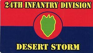 24th I.D. Desert Storm Magnets