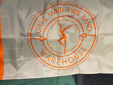 Dave Matthews Band Warehouse Official Fan Association Nylon Flag 24.5�x38� New