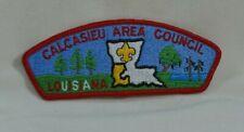 CALCASIEU AREA COUNCIL LOUISIANA BOY SCOUTS OF AMERICA SHOULDER PATCH FREE SHIP