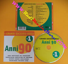 CD Compilation I GRANDI SUCCESSI ANNI 90 litfiba pino daniele mango ron raf(C26)
