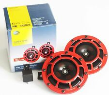 Hella Supertone Horn w/Relay- 4x4, UTE, SUV, Superbikes, Cars- 118dB. +Free Gift