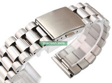 20mm Straight End Solid Stainless Steel 0485 President Bracelet For 6139-8020
