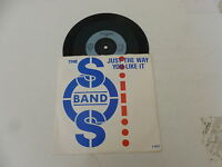 """THE SOS BAND - Just The Way You Like It - 1984 UK 2-track 7"""" Vinyl Single"""