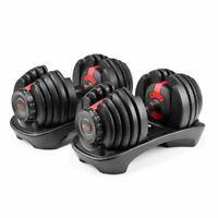 Bowflex SelectTech 552 - Two Adjustable Dumbbells **BRAND NEW**