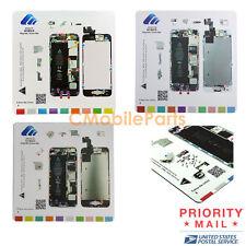 3 in 1 Set Flexible Magnetic Screw Chart Mat Repair Guide Pad for iPhone 5 5S 5C