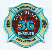 Jacksonville Fire and Rescue Department Station 36 Patch Florida FL