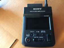 2 Sony HXR-MC1 HD Video Camera Recorderes  with case