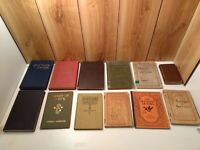 Vintage/antique hymn books, Great Hymns of the Faith LOT of  12 gospel spiritual