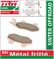 Plaquettes frein Avant TRW MCB582RSI Yamaha TY 250 Z 95- / YZ 250 90-96