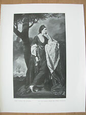 VINTAGE 1912 PRINT - MARY DUCHESS OF ANCASTER By JOHN DIXON
