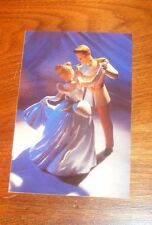 Classics Walt Disney So This Is Love Postcard Cinderella Prince's First Dance