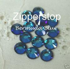 72 Swarovski Crystal Rhinestones ~ 30ss ~ Bermuda Blue