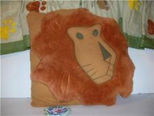 Serengeti Lion Pillow & Foot Print Window Valance New !