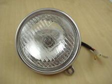 "HEADLIGHT LAMP HONDA CL70 S90 CT90 CL90 SS50 C200 S65 6V. // Diameter 5"" Inch"