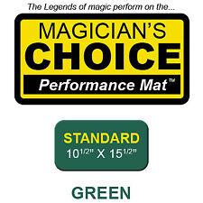 Ronjo Magic, Inc. Standard Close-Up Mat GREEN - 10.5x15.5 by Ronjo  magic trick