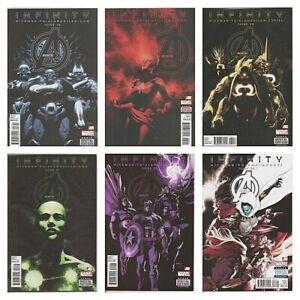 °AVENGERS #18 - 23 INFINITY TIE IN 1 bis 6 von 6°US Marvel 2013 J. Hickman