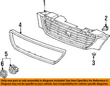 Acura HONDA OEM 1998 TL-Grille Grill 75101SW5A01ZM