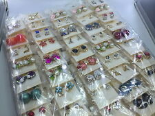 wholesale 60 Pairs Mixed Beautiful Earrings Fashion Jewellery Party Earring