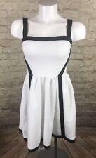 JUICY COUTURE DRESS Sun Stretch Black Label White Size 0